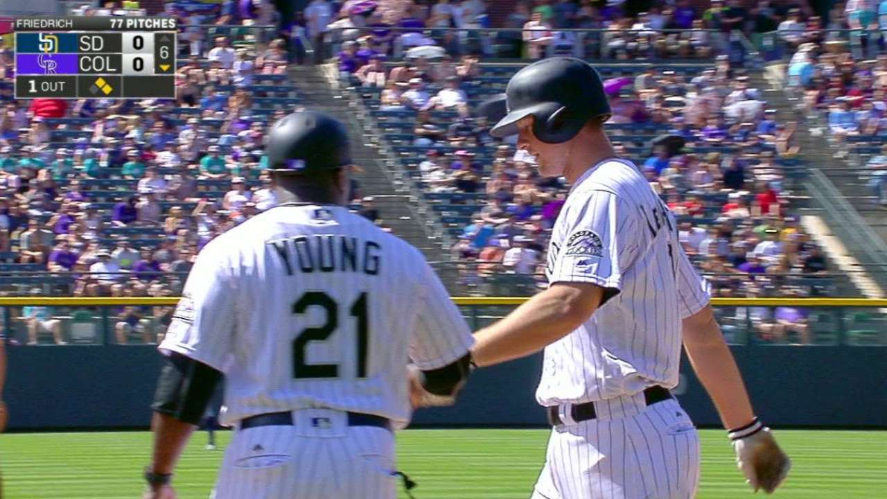 LeMahieu reaches on error