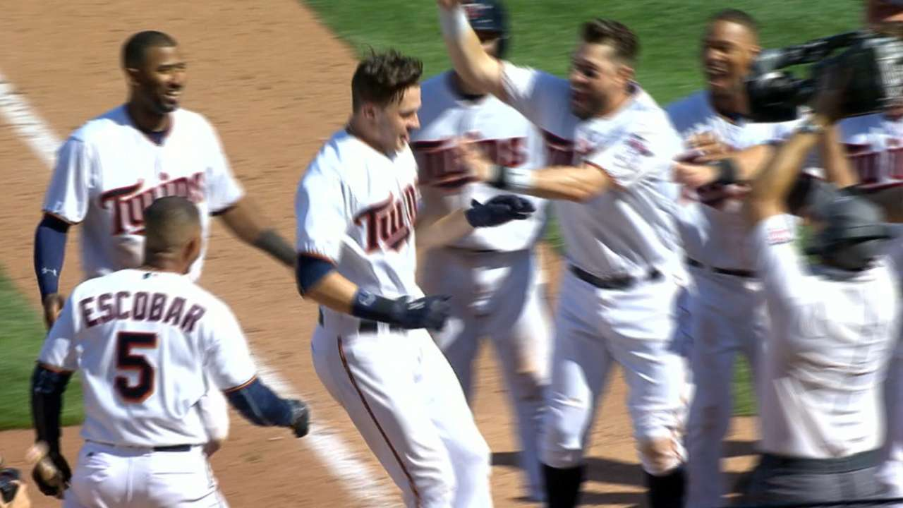 With 1st HR, Kepler joins exclusive Twins club