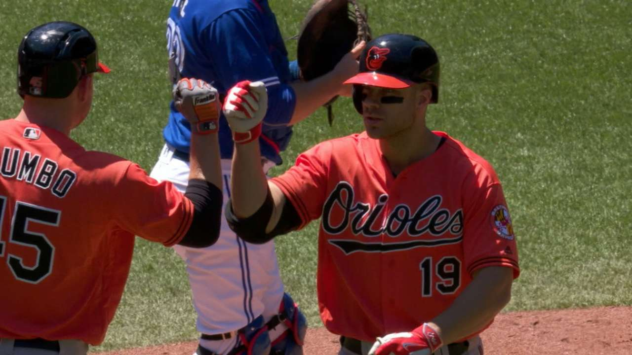 Davis' hot bat leads Orioles