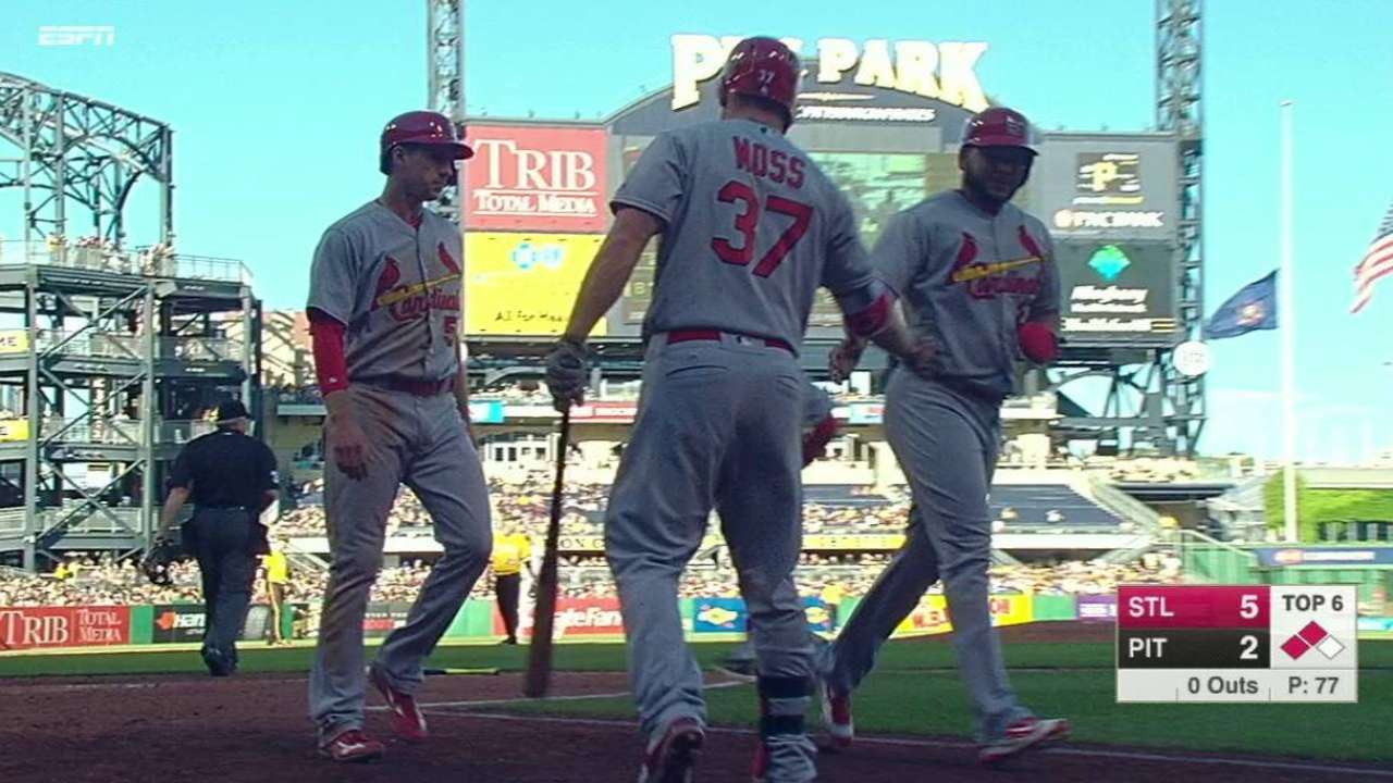 Yadi stays on track to start in All-Star Game
