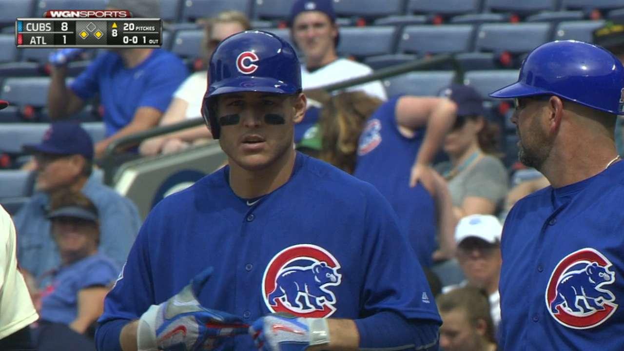 Rizzo drives in three runs