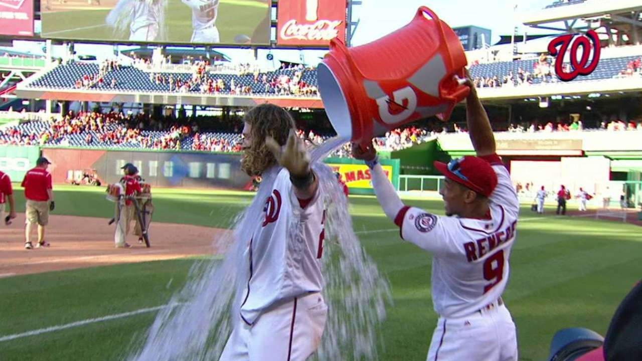 Touch of clutch: Werth again lifts Nationals