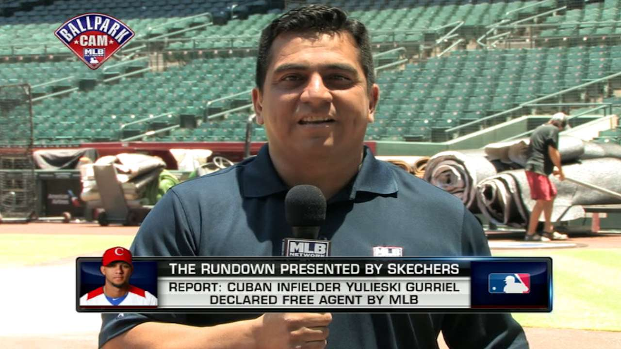 Jesse Sanchez joins The Rundown