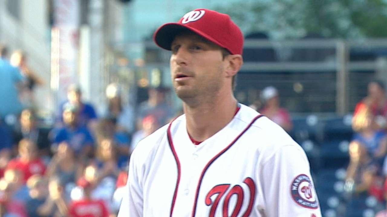 'Locked in' Scherzer gets payback on Cubs