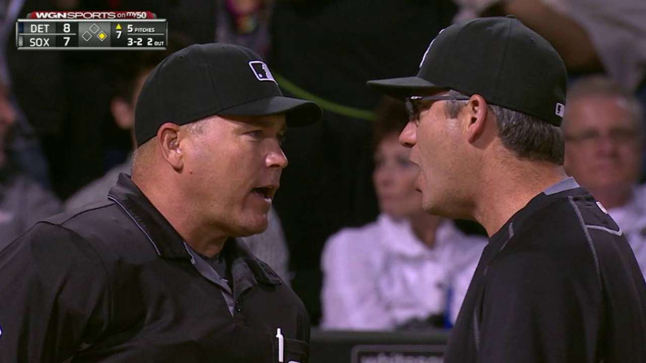 Ventura gets ejected