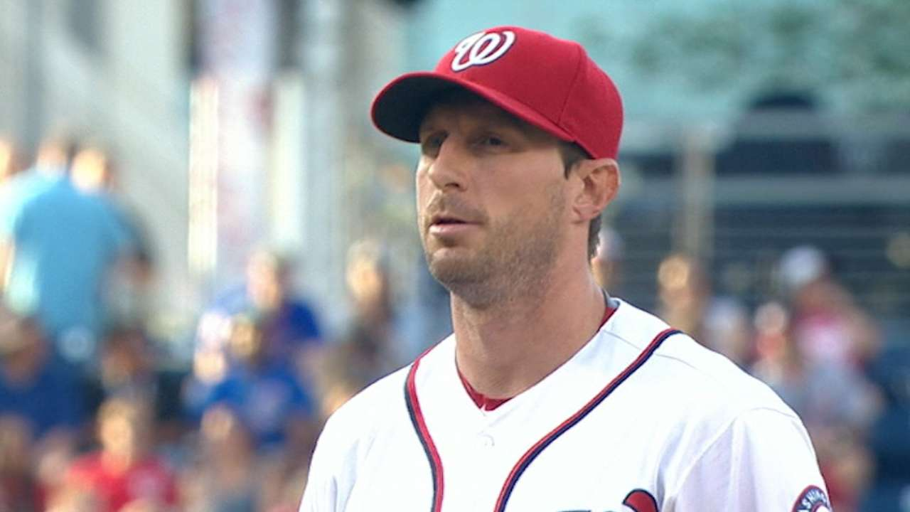 Scherzer's dominant outing