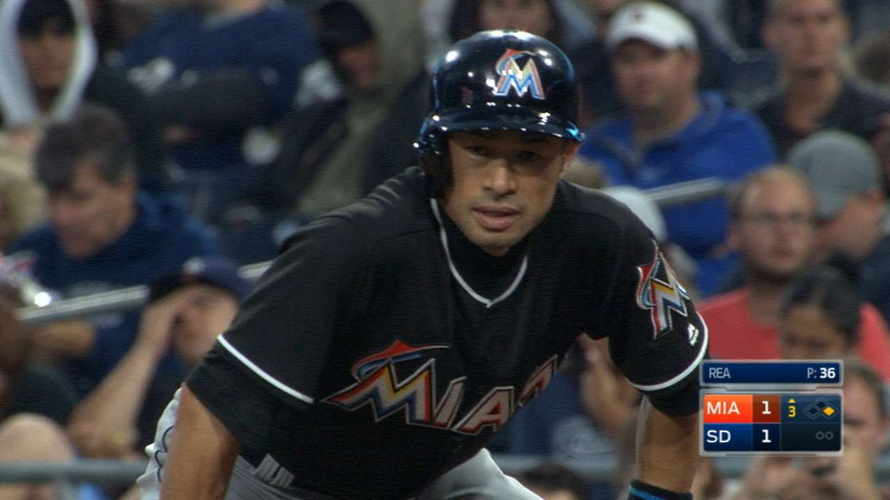 Ichiro playing with verve of old for Marlins