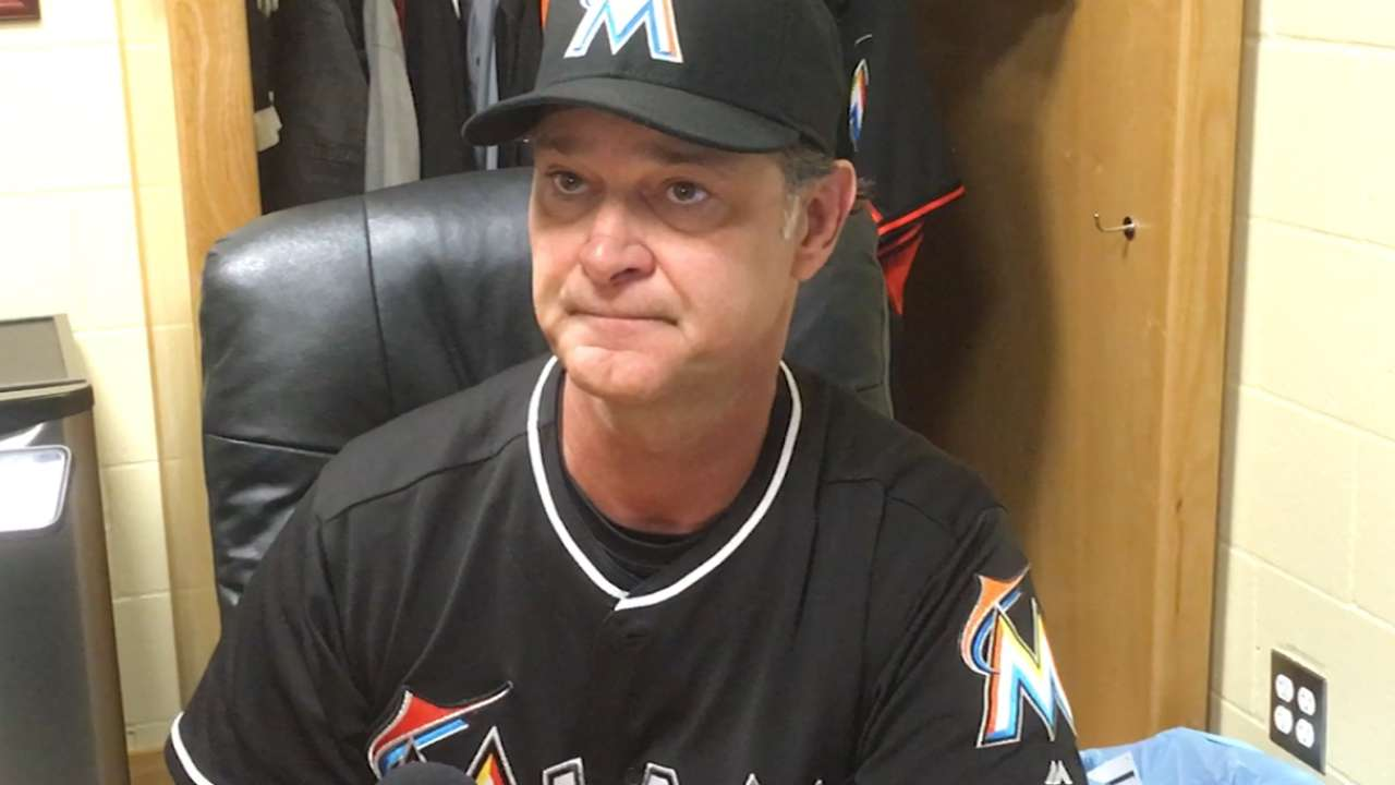 Mattingly on Marlins' 13-4 win