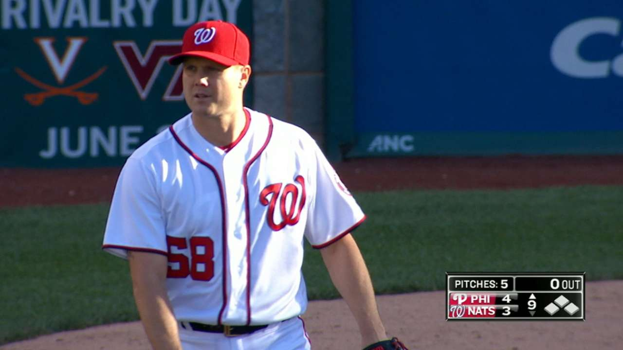 Papelbon headed to DL with intercostal strain