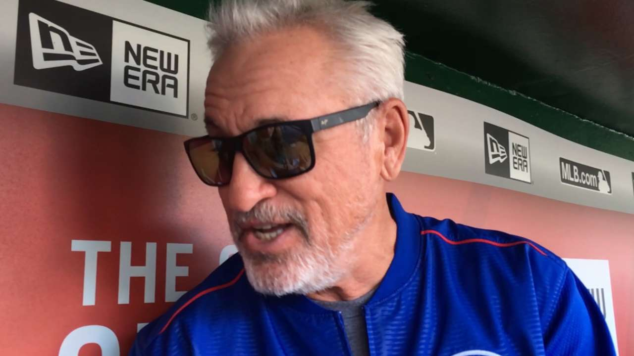 Maddon has Cubs more selective in shifting