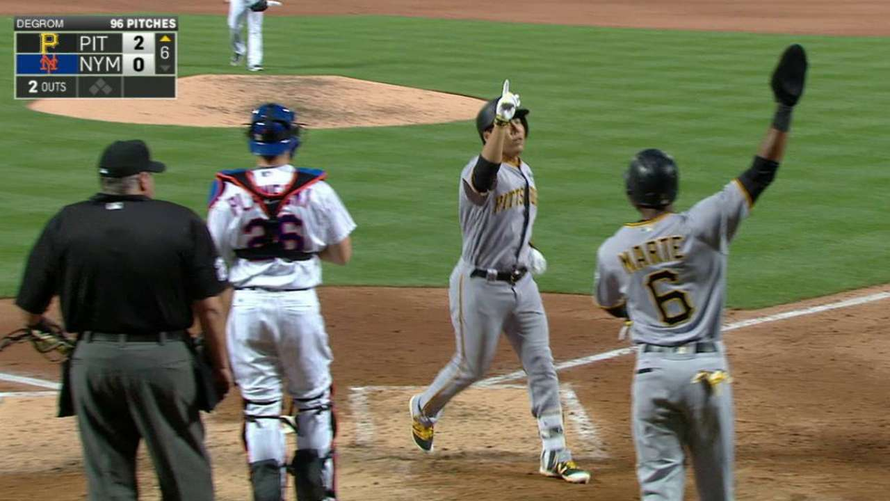Kang's two-run home run