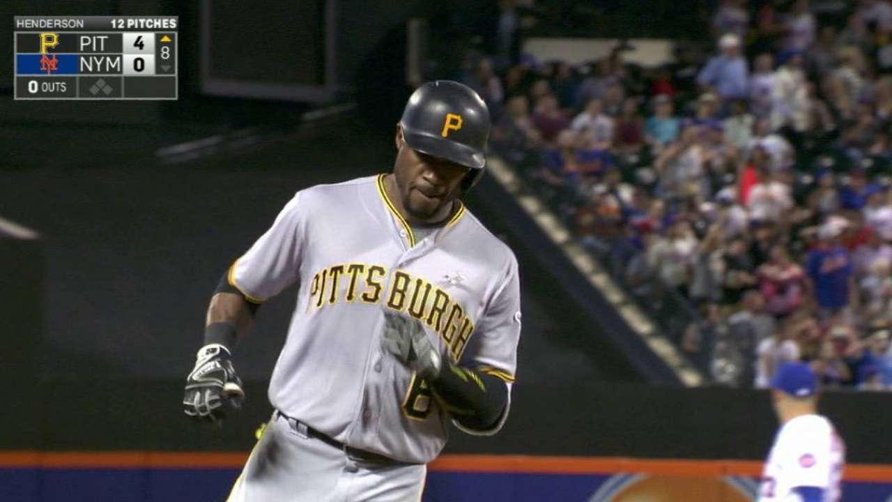 Marte's two-run home run