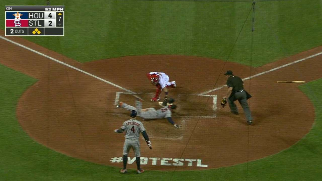 Fister's two-run single