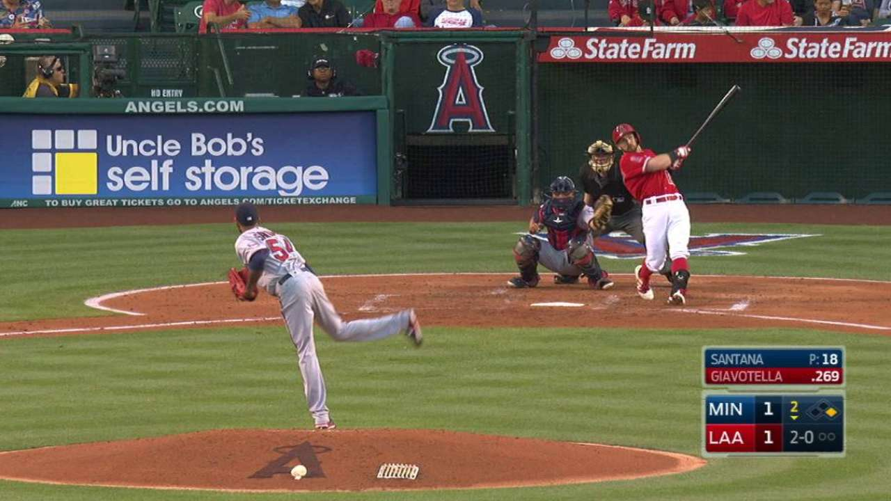 Halos ride homers, strong 'pen to edge Twins