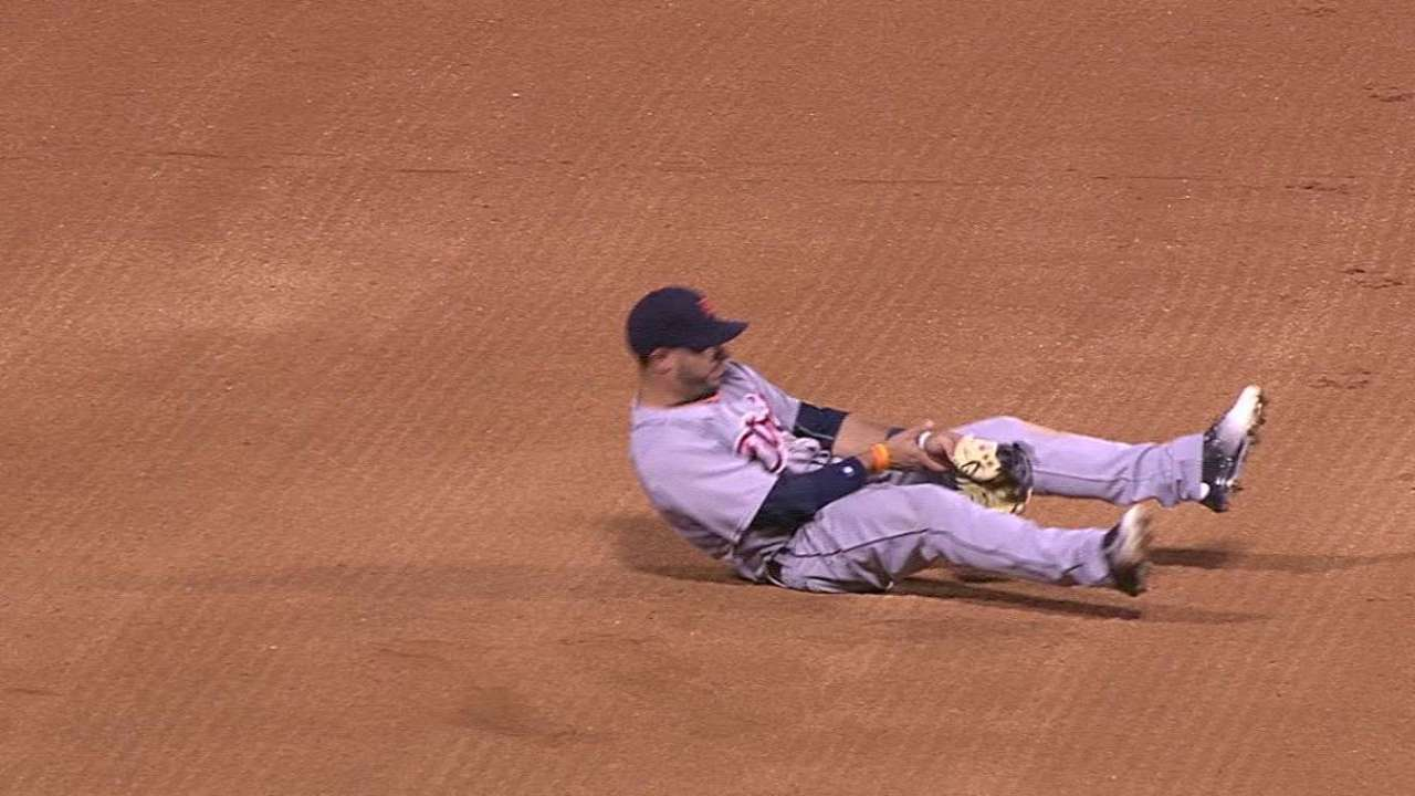 Tigers get good news on Aviles' sore wrist