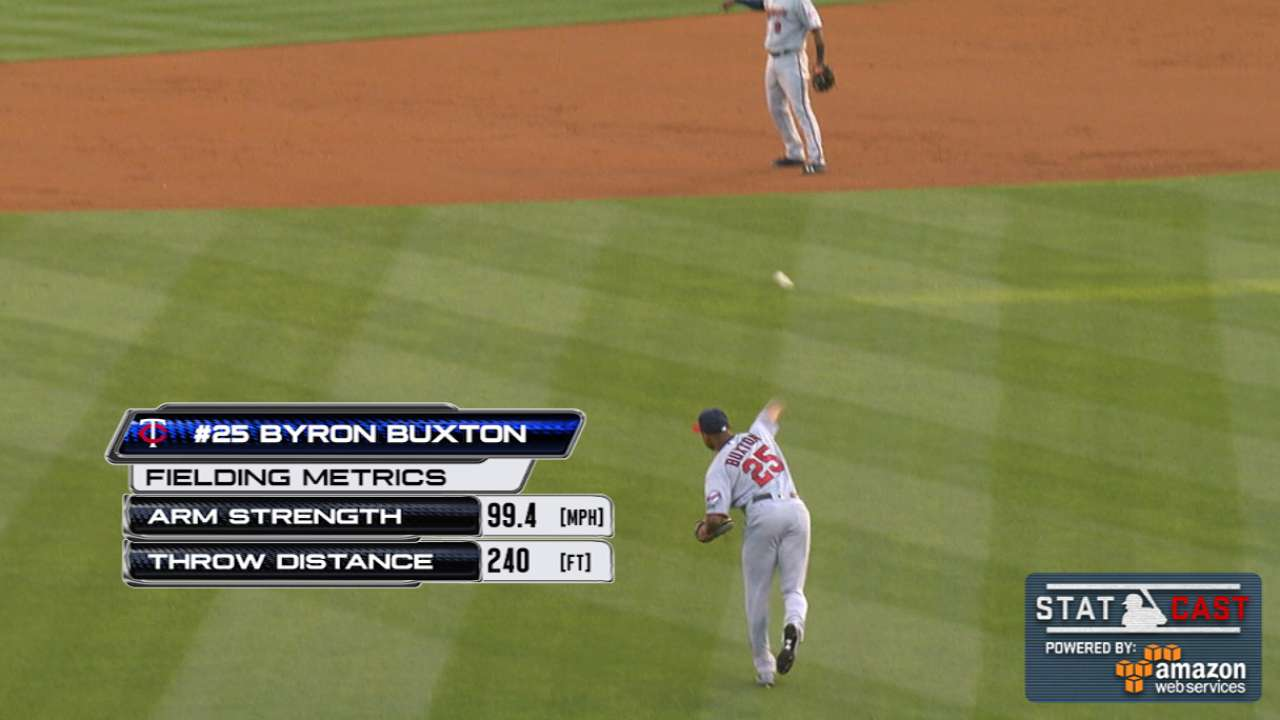 Buxton begins to show flashes of future stardom