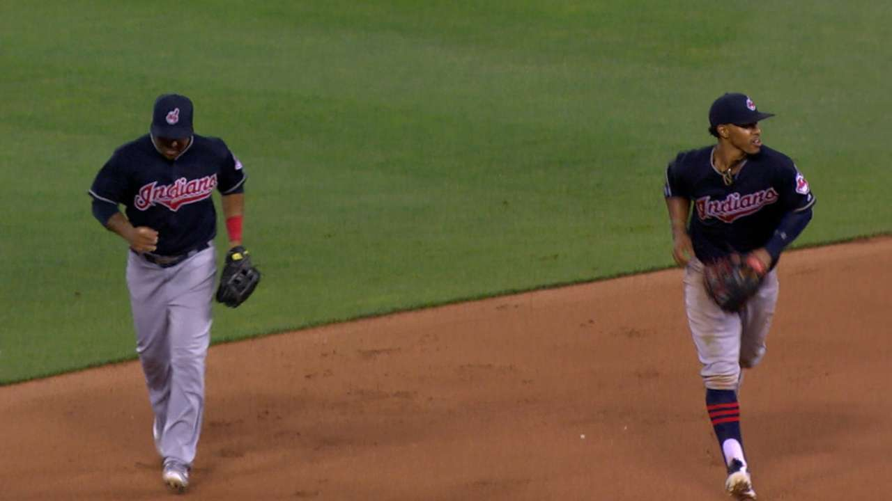 Lindor, Ramirez improvise repeat of combo play