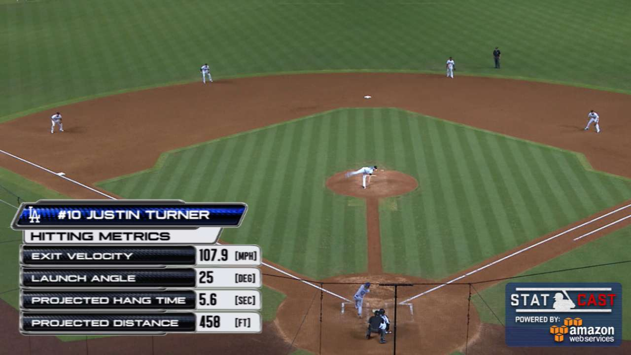 Statcast: Turner homers to left