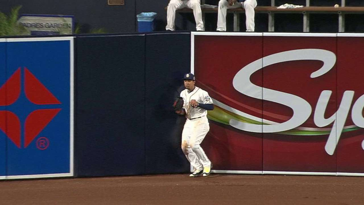 Jay's jumping catch
