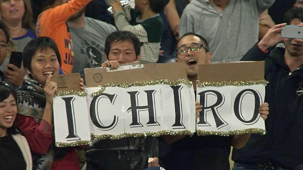 Ichiro's quest to tie Rose