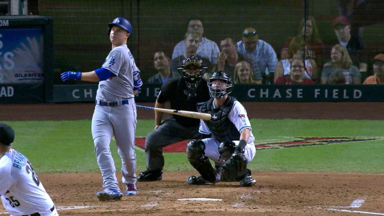 Dodgers halt slide with power, solid pitching