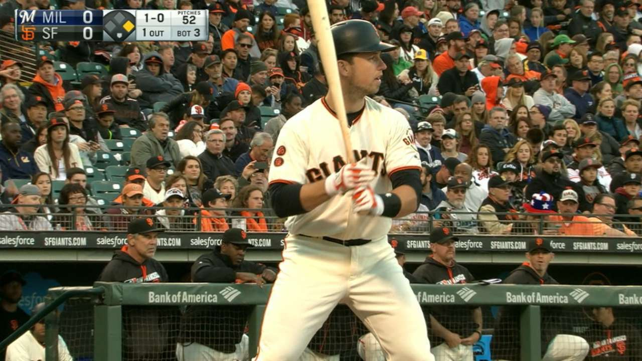 Posey's four-hit game