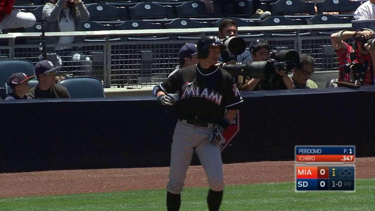 Ichiro's historic hit No. 4,256