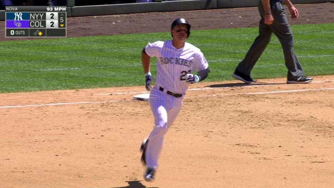 Arenado's two-run home run
