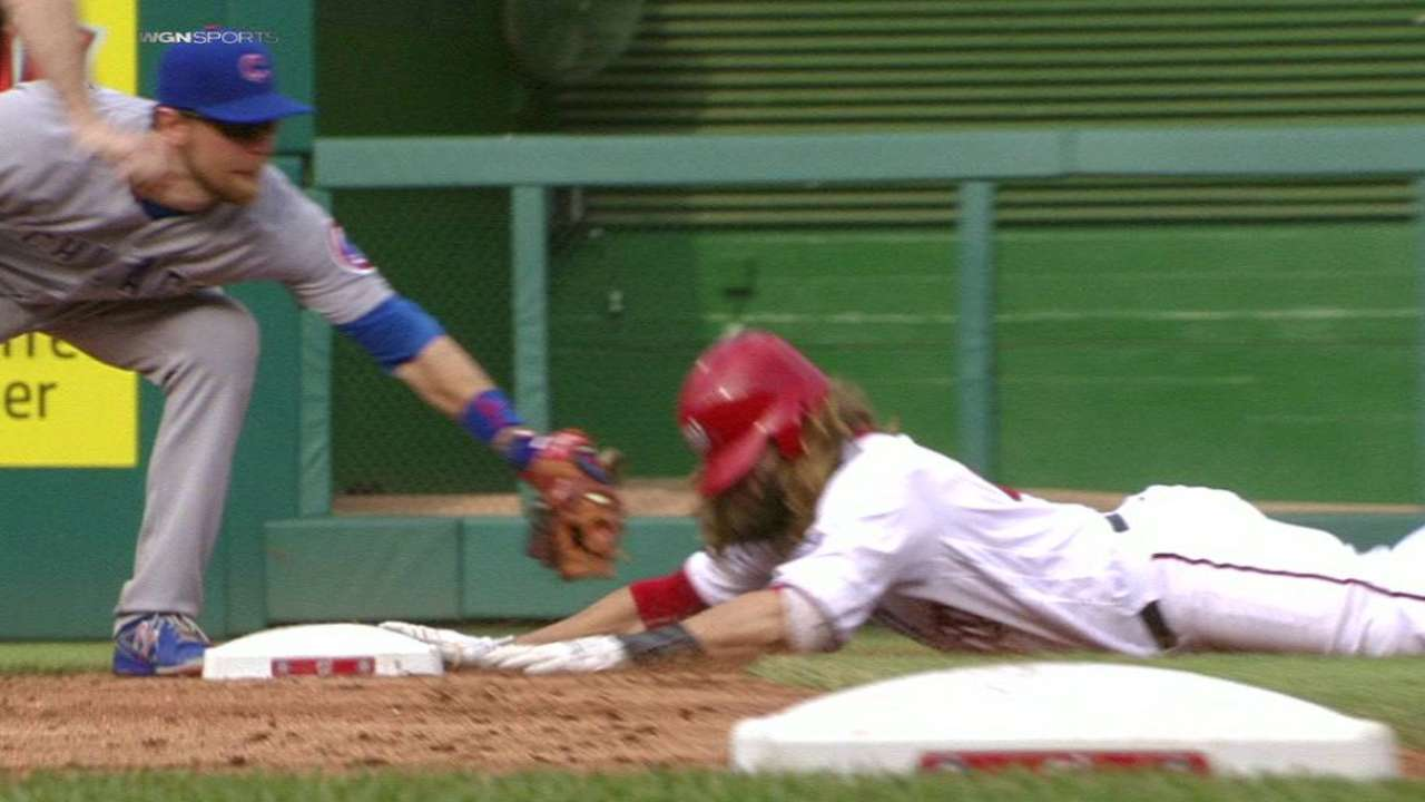 Bryant nabs Werth after review