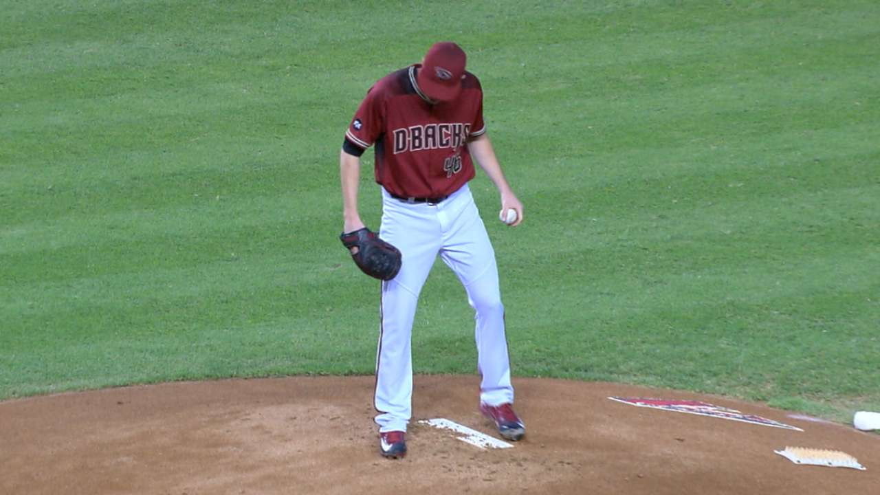 Corbin strikes out seven