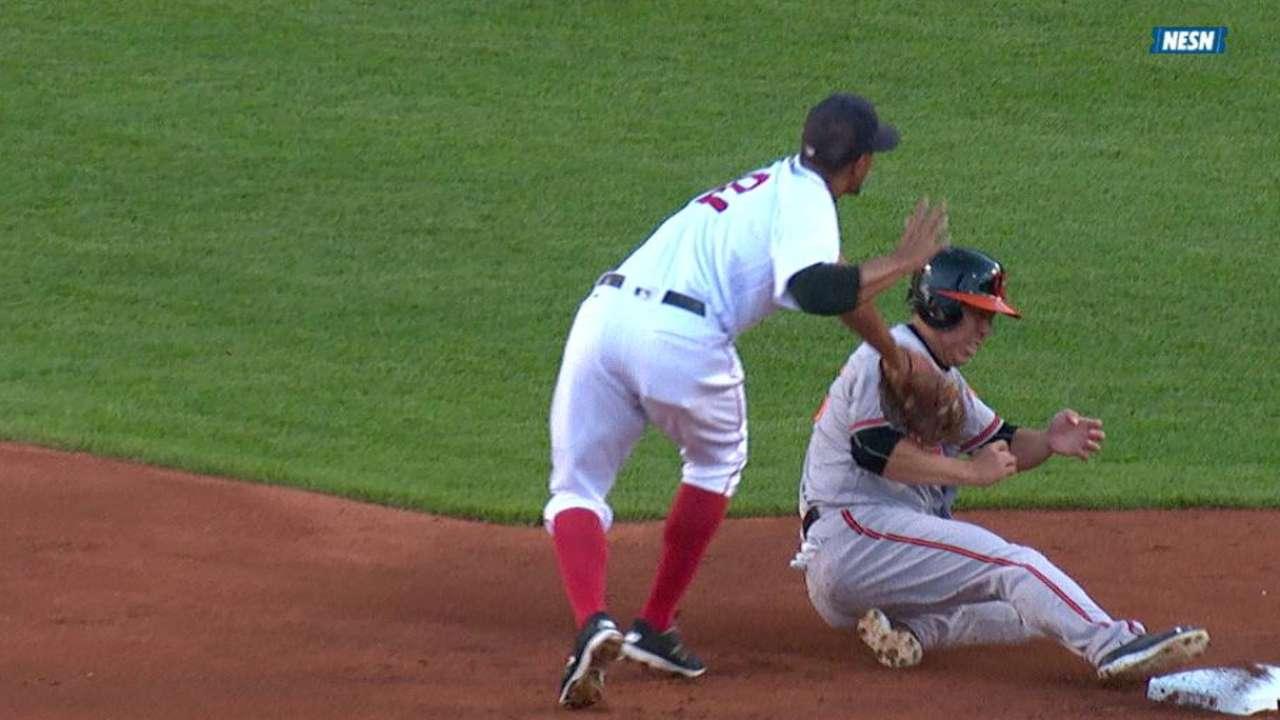 Vazquez throws out Kim