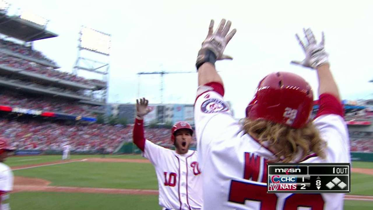 Bench boppers: Nats getting power from subs