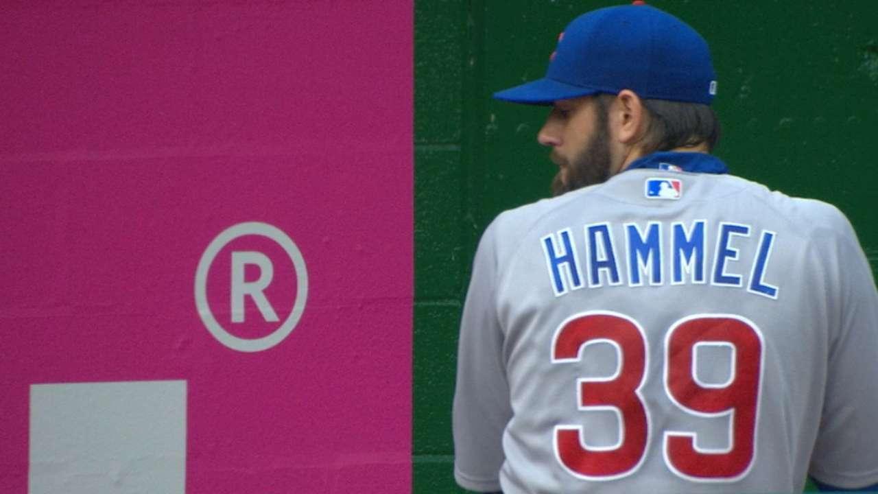 Hammel allows one run over seven