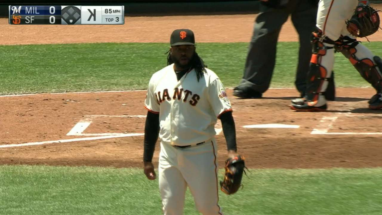 Cueto strikes out nine in win