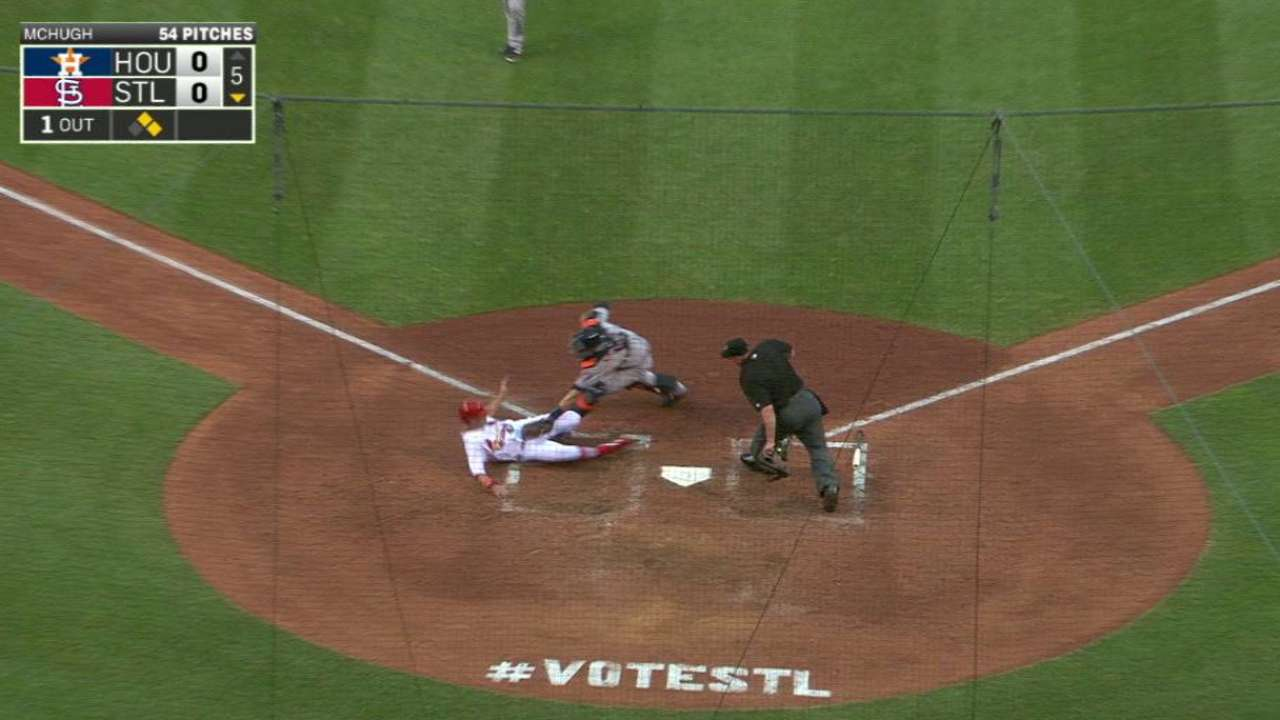 Springer nails Piscotty at home