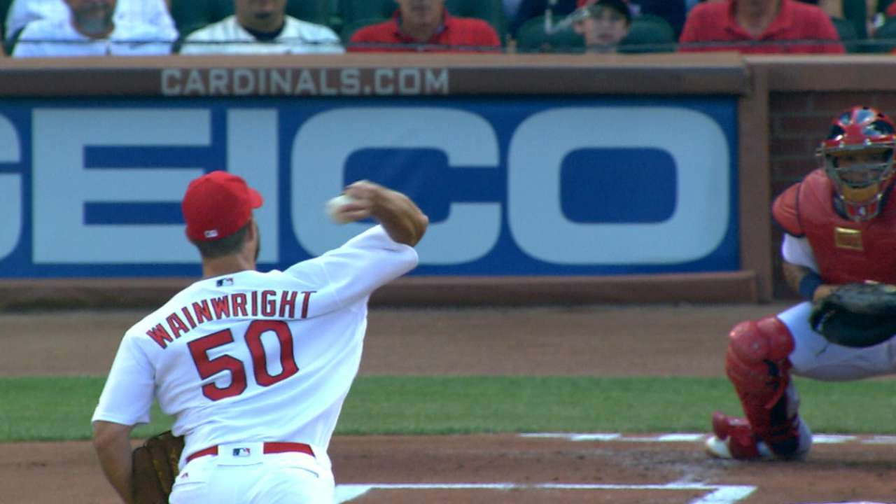 Wainwright's scoreless start