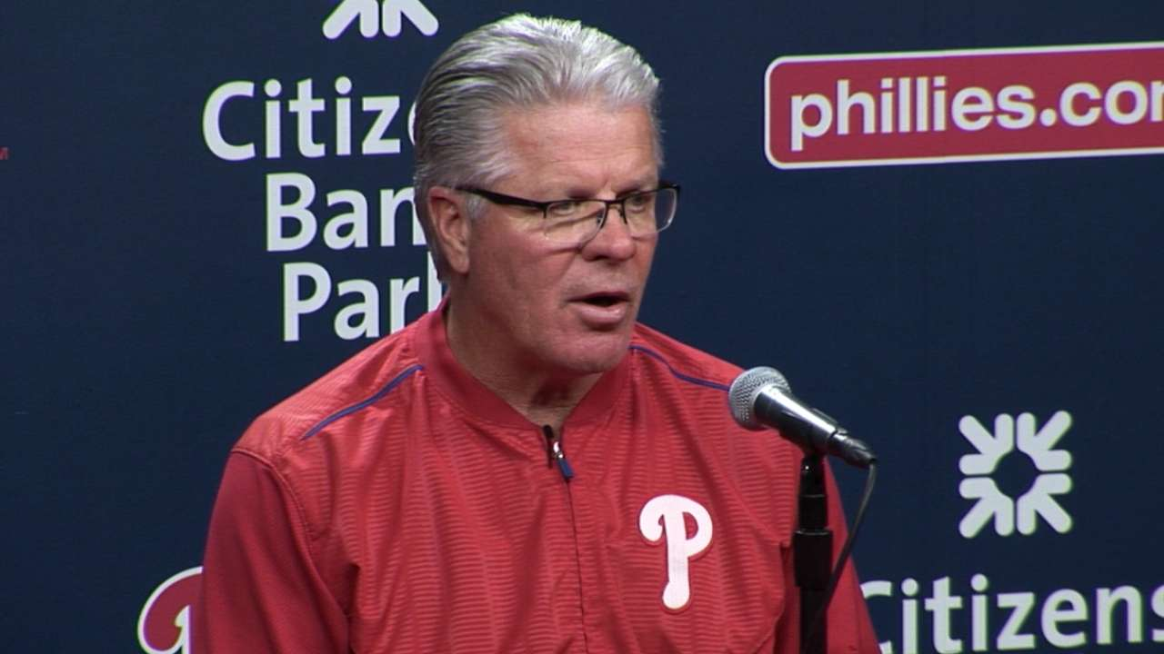 Mackanin discusses 7-2 loss