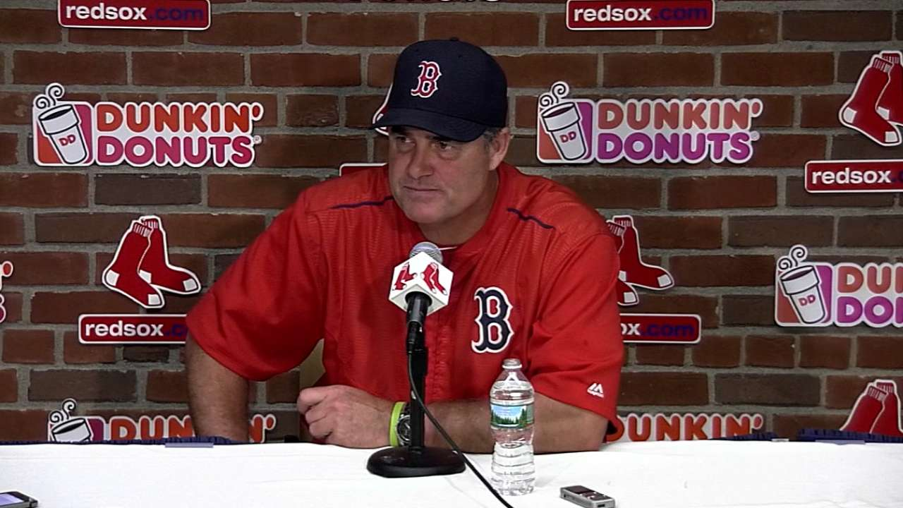 Farrell on 6-4 win over Orioles
