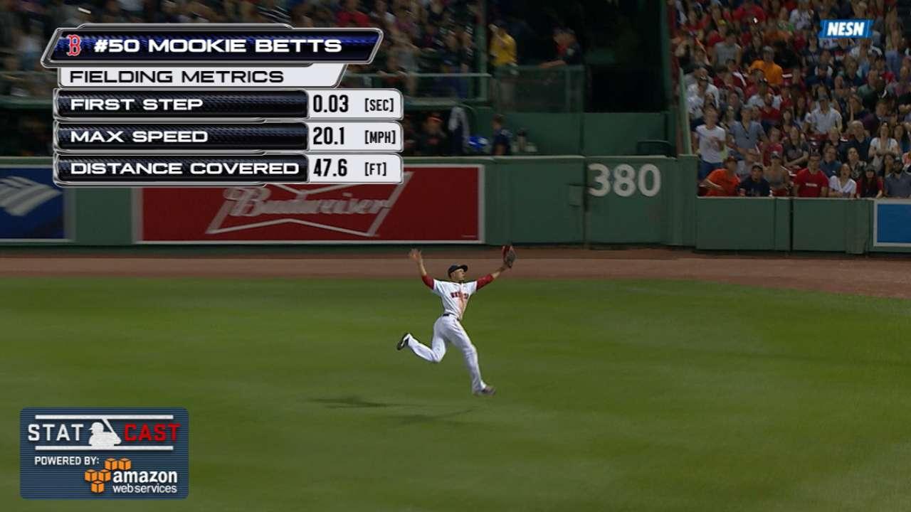 Statcast: Betts' running catch