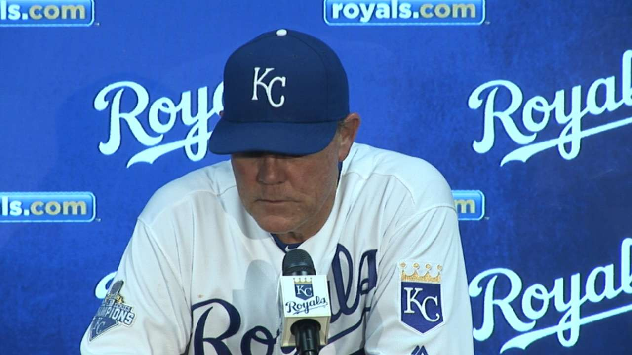 Yost on Royals' 9-4 win