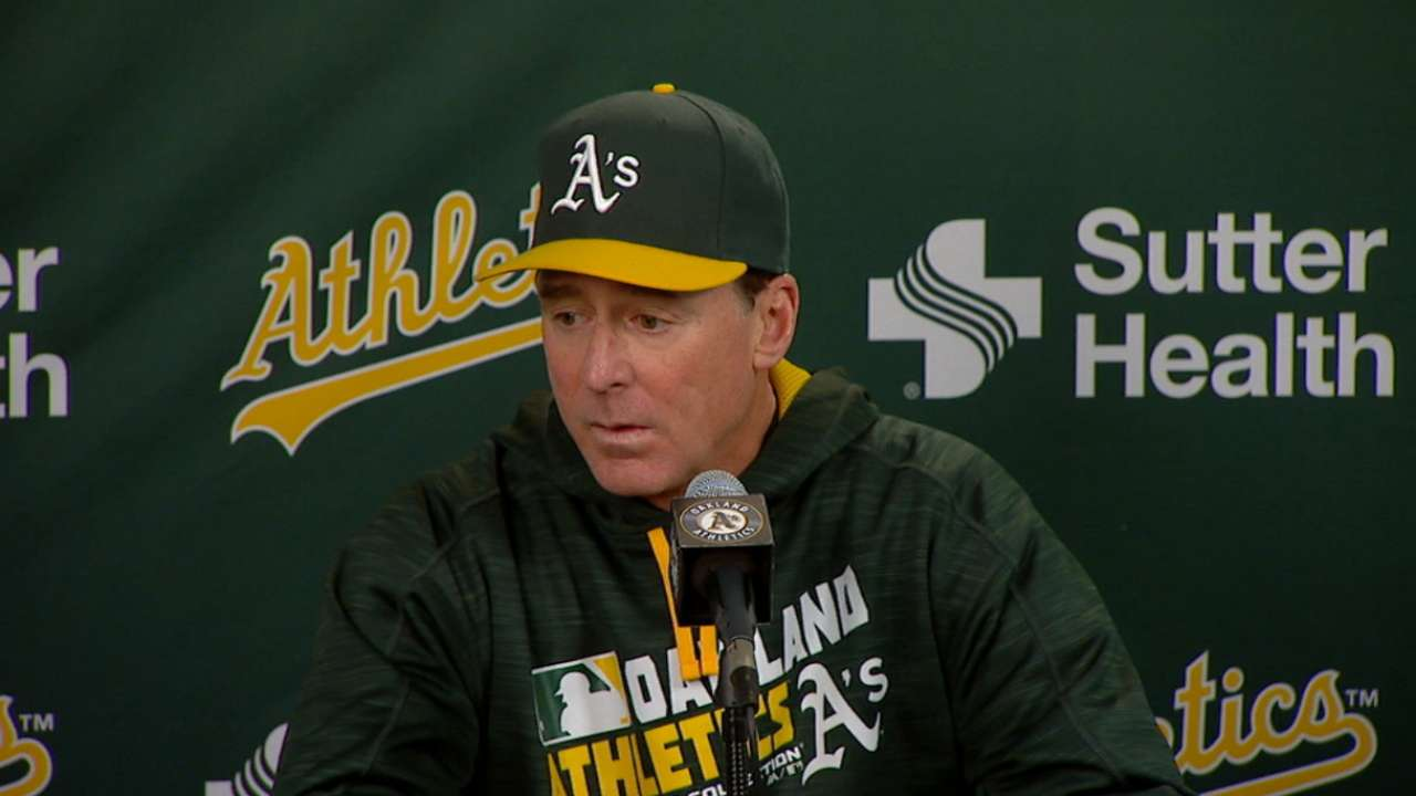 Melvin on 7-5 loss to Rangers