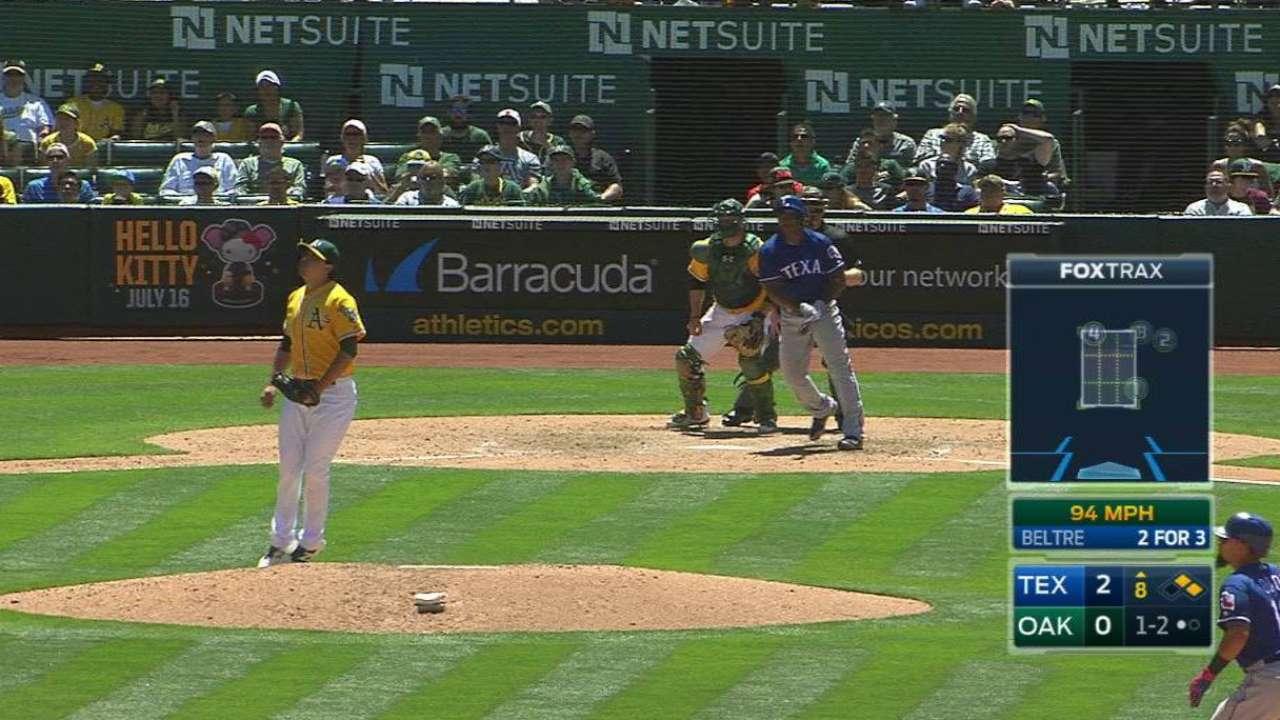 Beltre's two-run double