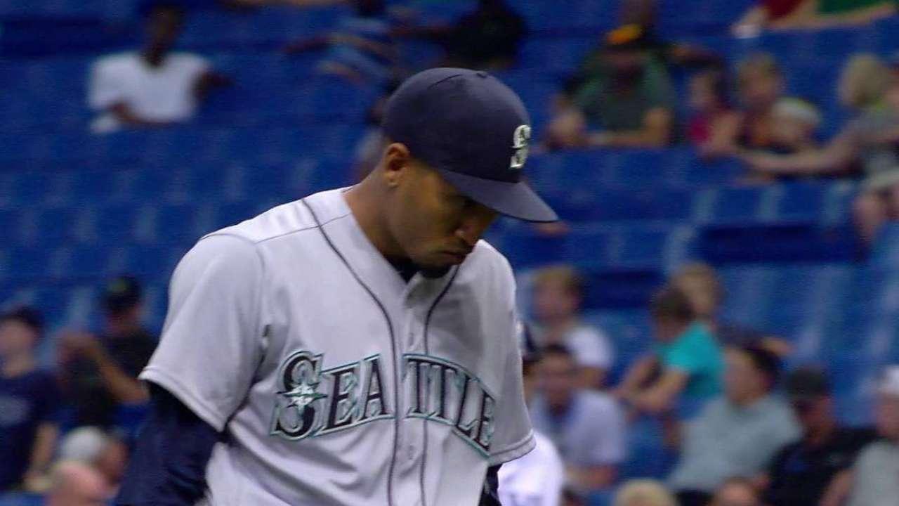 Diaz's big strikeout
