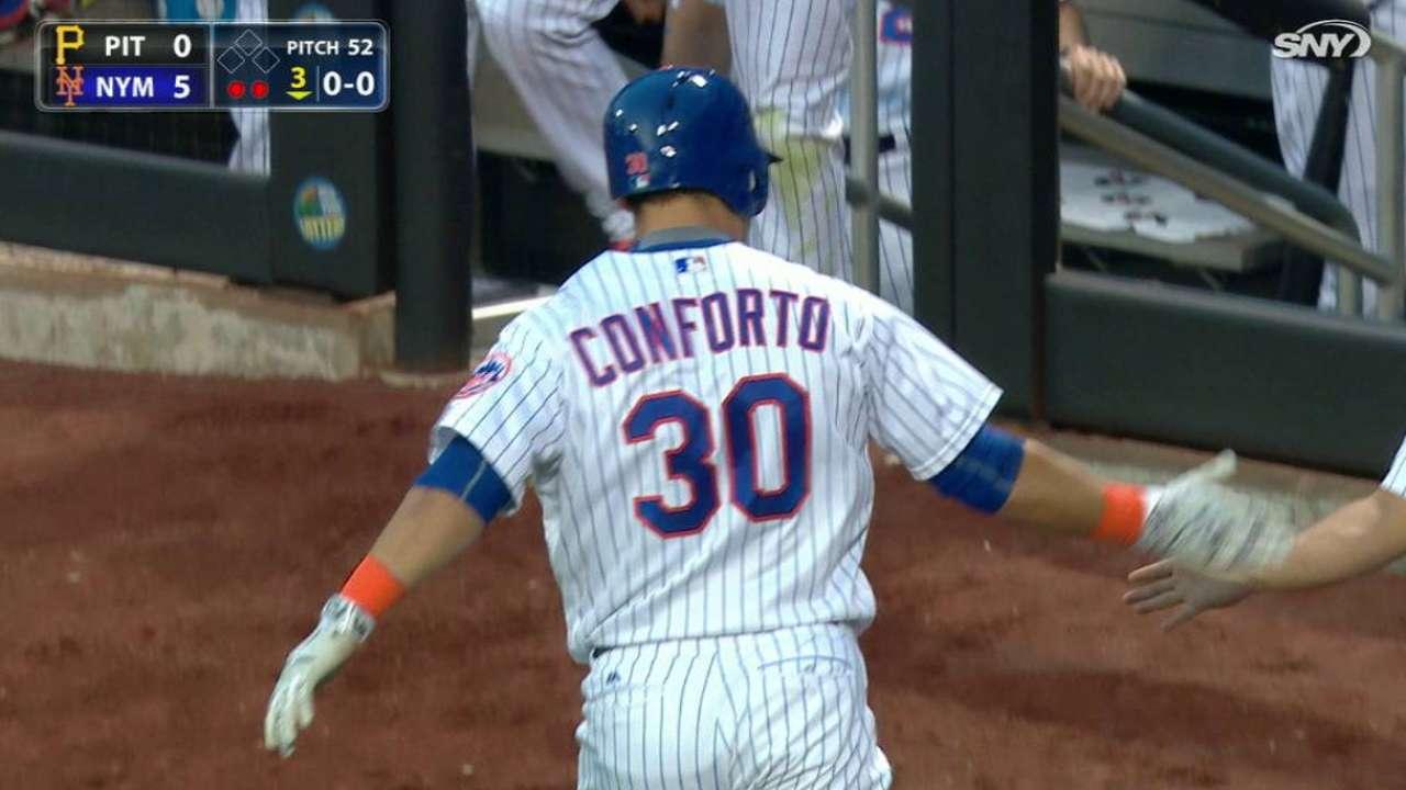 Conforto's solo home run