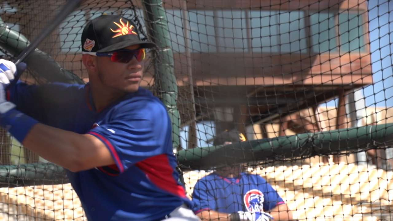 Contreras to get 1st start Sunday or Monday