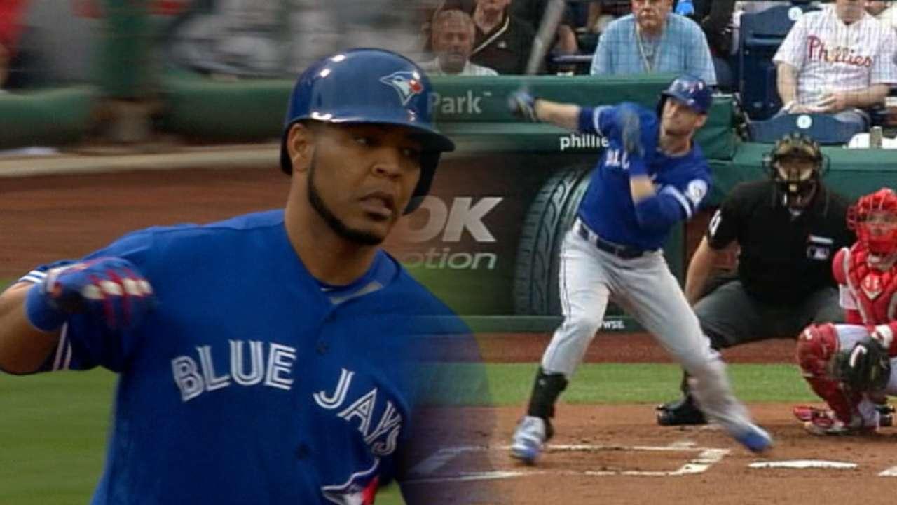 Five home runs lift Blue Jays over Phillies