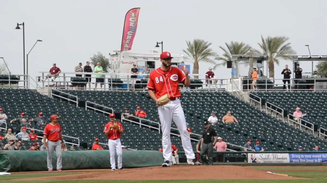 What to expect from Reds' Reed in big leagues