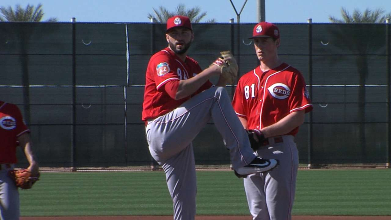 Zinkie on Reds' callup of Reed
