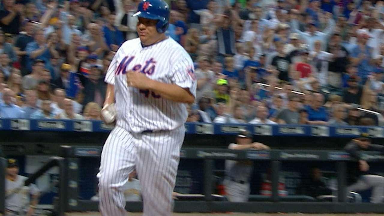 Mets follow Bart's lead, take series from Bucs