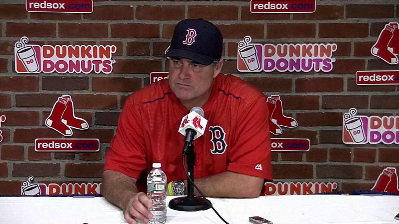 Farrell on 5-1 loss to Orioles